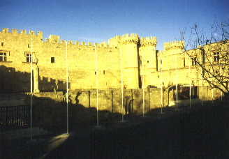 The Grand Master´s palace in Rhodes